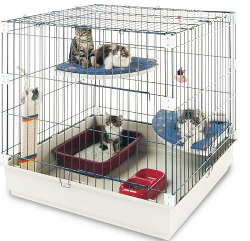 Для кошек клетка